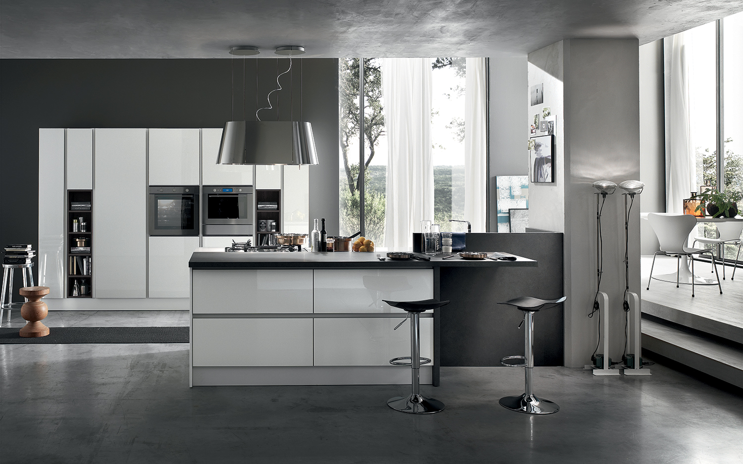 I 30 tipi di cucine pi desiderate for Cucine moderne color ciliegio